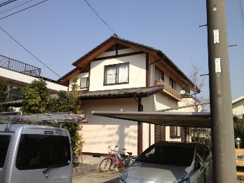 横浜市都筑区で外壁塗装 俺の職人魂・・現場レポートS様邸NO,5